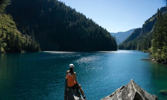 Lindeman Lake, Chilliwack, BC, Canada